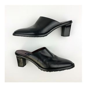 Etienne Aigner Leather Mules 7